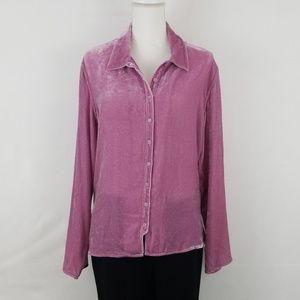J. JIll Button up blouse